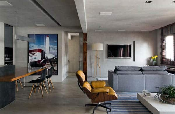 featured posts image for Contemporary design aesthetic in Brazil: Real Parque Loft