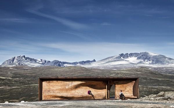 Tverrfjellhytta-Norwegian Wild Reindeer Pavilion-Snohetta-05-1 Kindesign