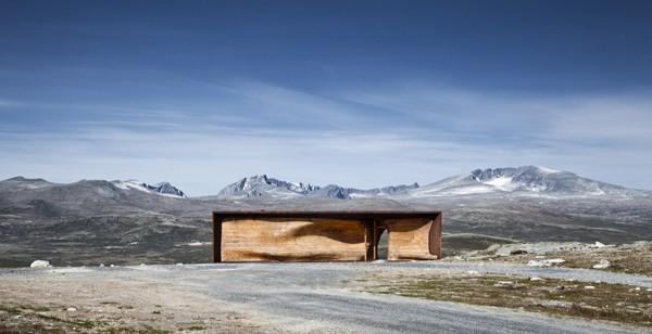 Tverrfjellhytta-Norwegian Wild Reindeer Pavilion-Snohetta-06-1 Kindesign