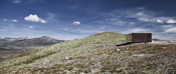 Tverrfjellhytta-Norwegian Wild Reindeer Pavilion-Snohetta-07-1 Kindesign