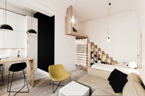 featured posts image for Beautifully Designed 29 Square Meters Flat in Poland