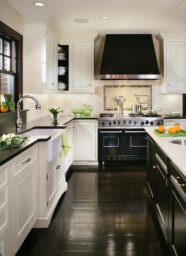 featured posts image for Black and White: 45+ Sensational kitchens to inspire