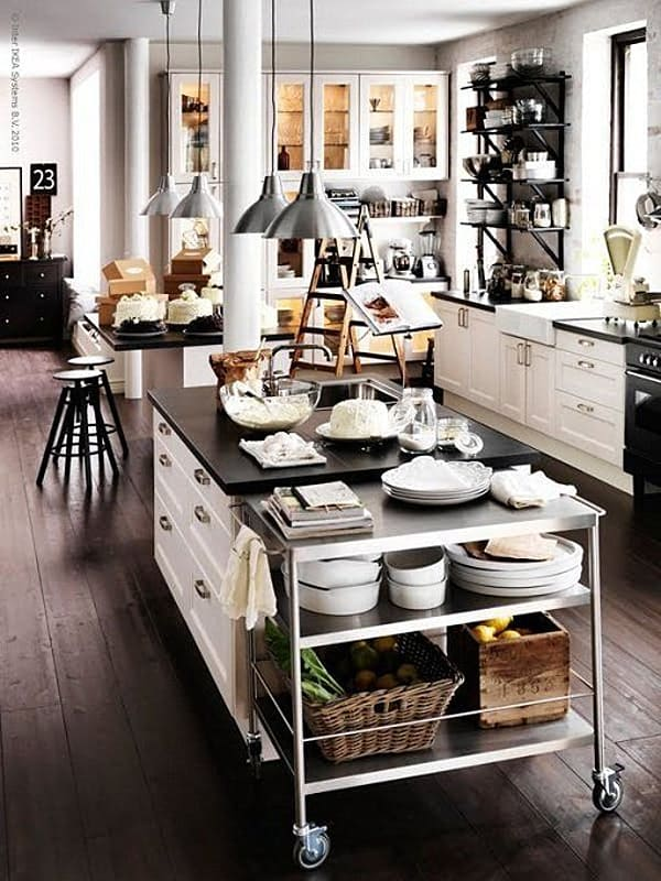 Black and White Kitchens-07-1 Kindesign