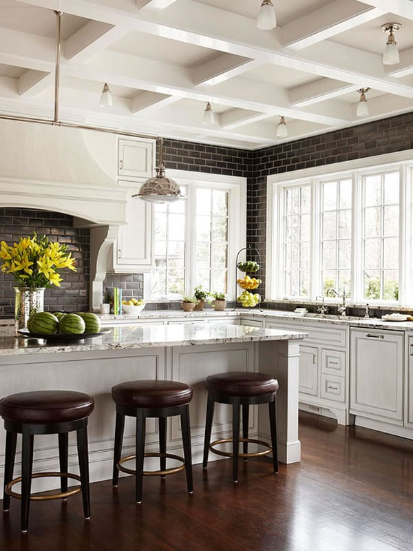 Black and White Kitchens-10-1 Kindesign