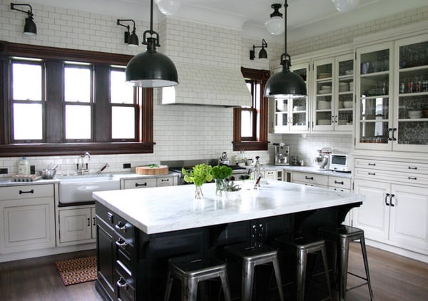 Black and White Kitchens-13-1 Kindesign
