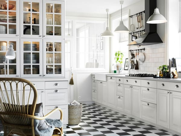 Black and White Kitchens-14-1 Kindesign
