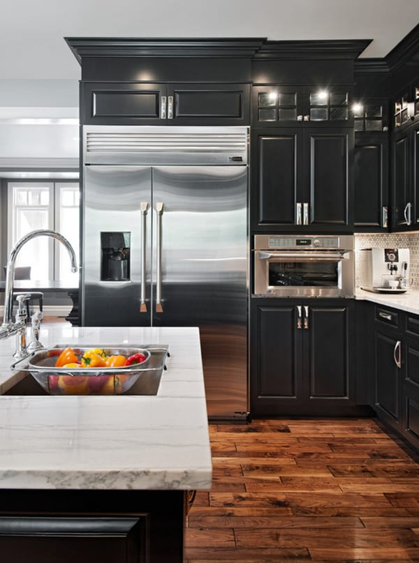 white or dark kitchen cabinets 2014 black and white 45 sensational kitchens to inspire 29110