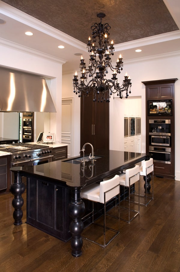 Black and White Kitchens-44-1 Kindesign