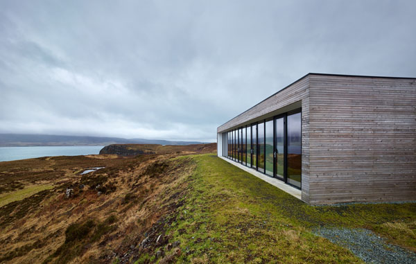featured posts image for Modern concrete dwelling on the Isle of Skye: Cliff House