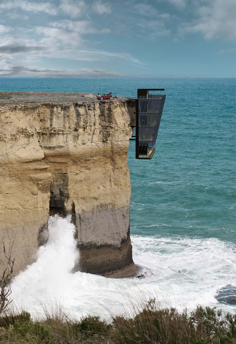 featured posts image for Suspended Cliffside over the Australian Sea: Cliff House