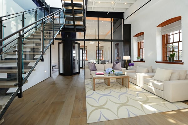 Greenwich Street Penthouse-Turett Collaborative Architects-03-1 Kindesign