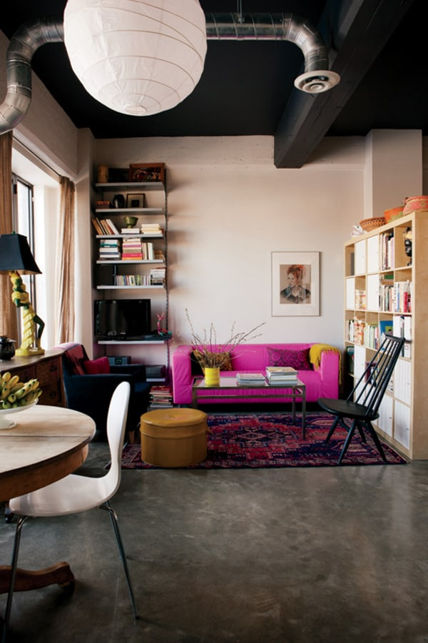 featured posts image for 50 Most phenomenal industrial style living rooms