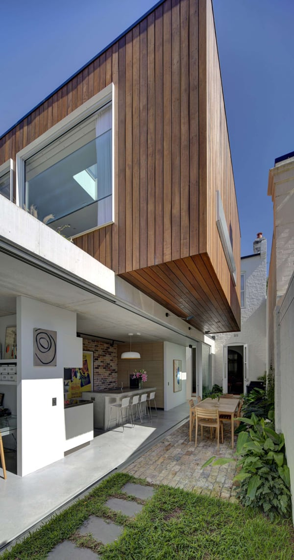 featured posts image for Contemporary renovation in Sydney: Long Courtyard House