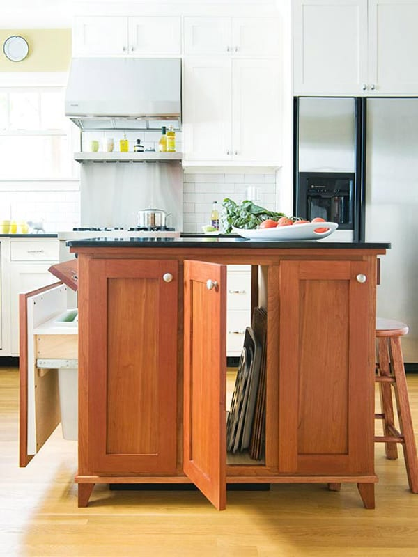 small space kitchen island 48 amazing space saving small kitchen island designs 5554