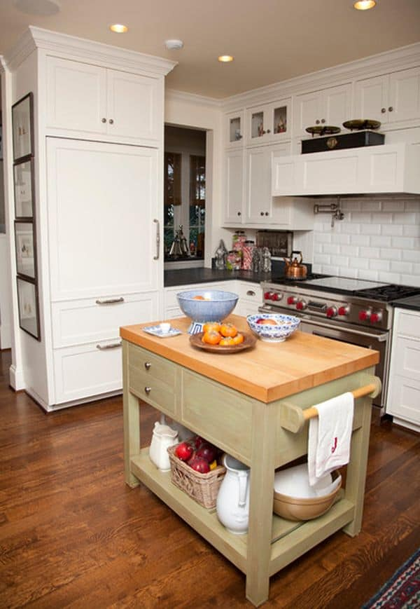 small kitchen island design ideas 48 amazing space saving small kitchen island designs 8067