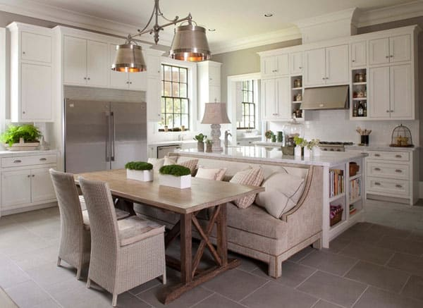 Tradional Style Kitchen Designs-15-1 Kindesign