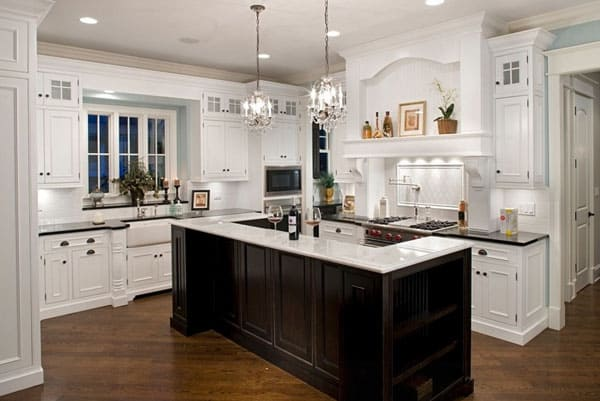 Tradional Style Kitchen Designs-18-1 Kindesign
