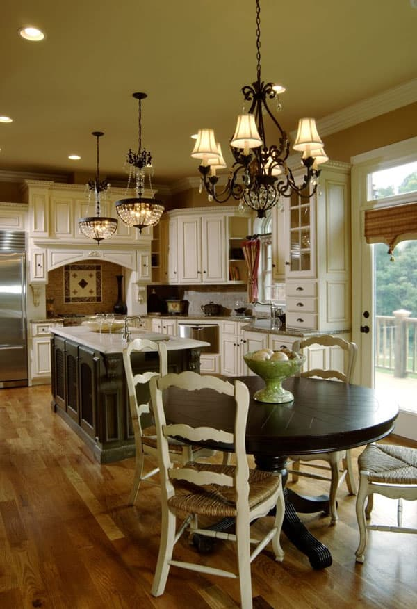 65 Extraordinary traditional style kitchen designs - photo#28