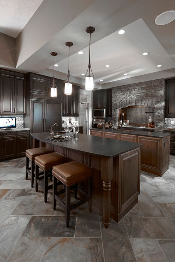 65 Extraordinary traditional style kitchen designs - photo#9