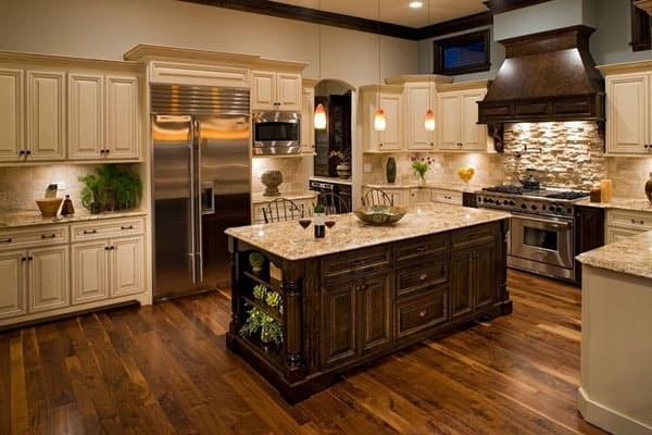 Tradional Style Kitchen Designs-62-1 Kindesign