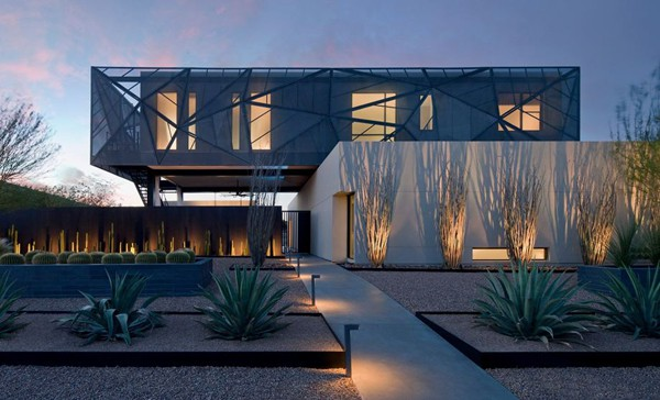 featured posts image for Visually stunning architecture in Nevada: Tresarca Residence