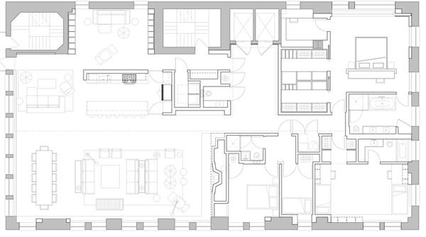 Tribeca Loft-Aaron Schump-12-1 Kindesign