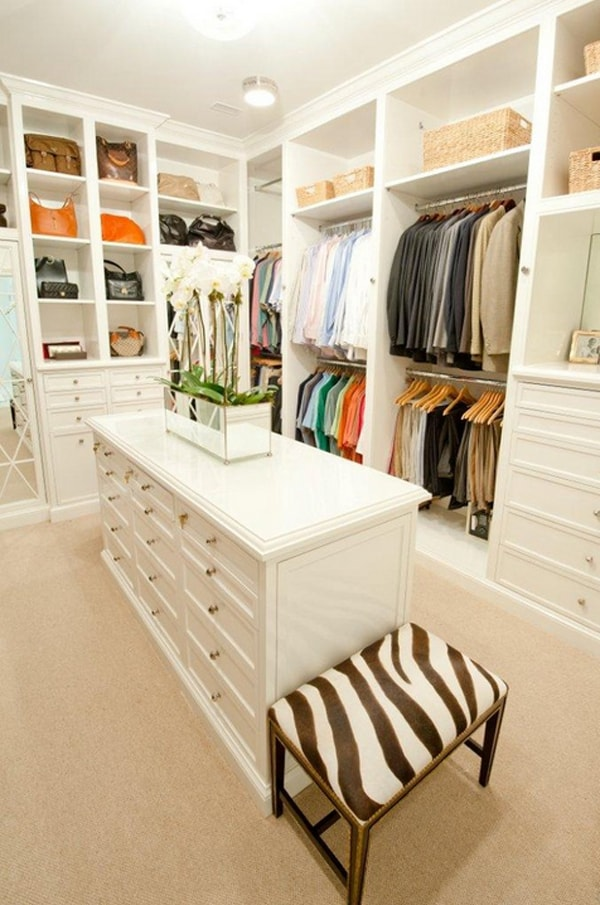 featured posts image for Become more organized with a walk in wardrobe