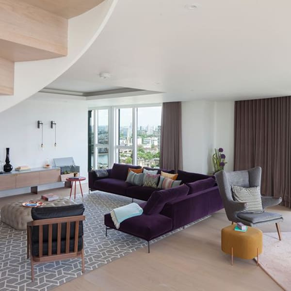 Wapping Lane Penthouse-Amos and Amos-02-1 Kindesign