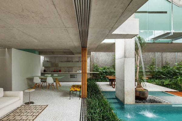 featured posts image for Weekend House showcasing rooftop pool in São Paulo
