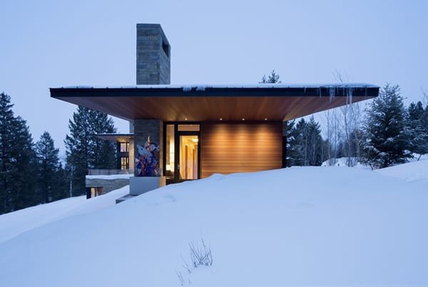 featured posts image for Butte Residence: An invigorating mountain home in Wyoming
