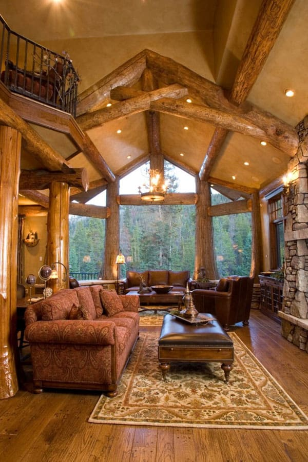 cabin living room decor 47 extremely cozy and rustic cabin style living rooms 15486