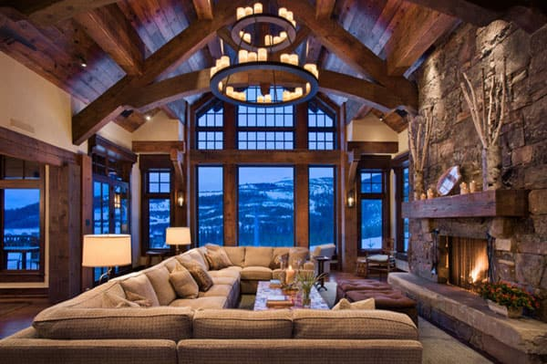 High Quality Cabin Style Living Rooms 42 1 Kindesign Amazing Pictures