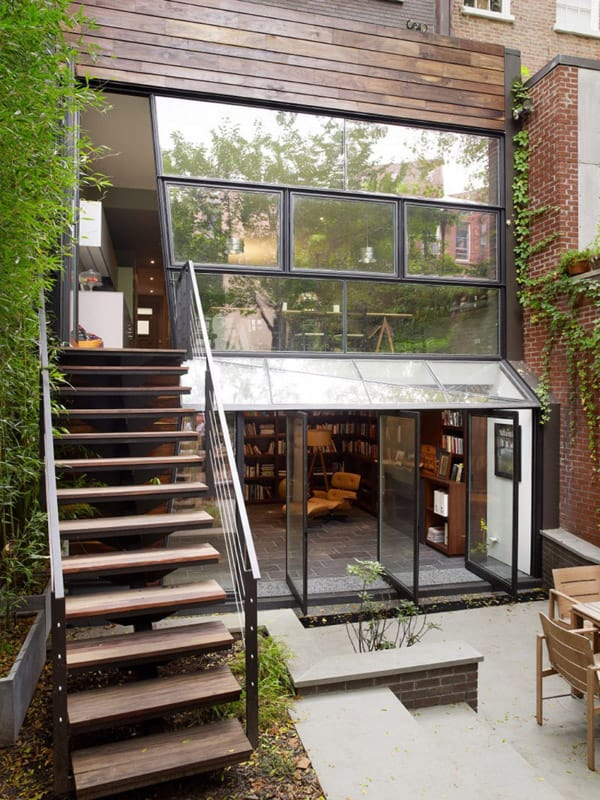 featured posts image for Remarkable three story Chelsea Townhouse renovation