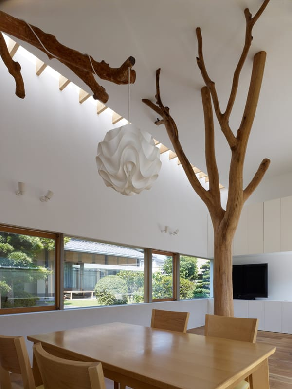 Garden Tree House-Hironaka Ogawa Associates-02-1 Kindesign