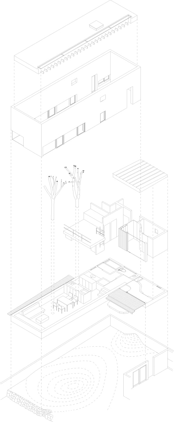Garden Tree House-Hironaka Ogawa Associates-21-1 Kindesign