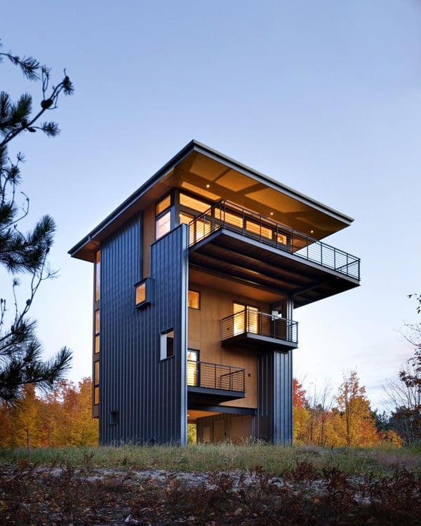 Glen Lake Tower-Balance Associates Architects-01-1 Kindesign