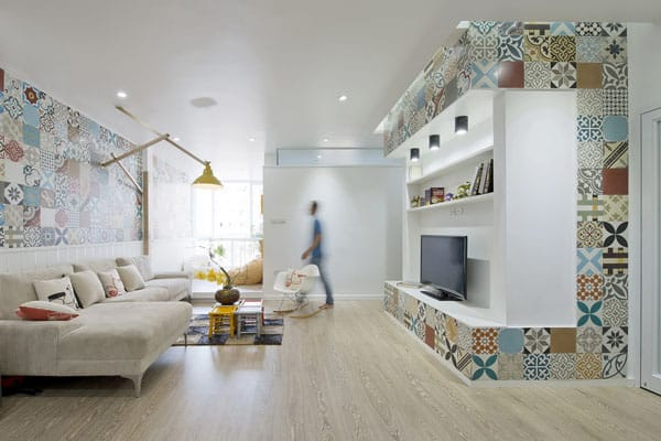 featured posts image for Playful apartment interiors in Vietnam: HT Apartment