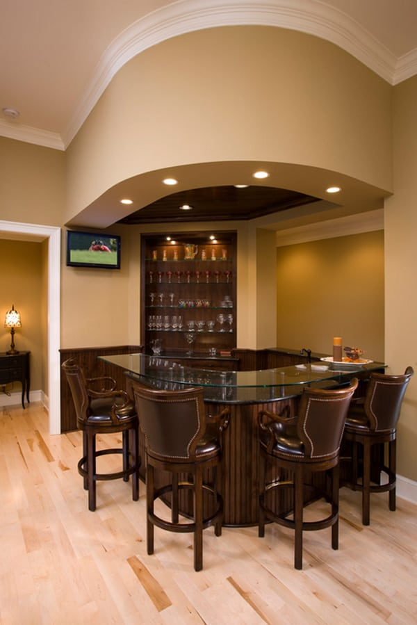 58 exquisite home bar designs built for entertaining for Home bar basement design ideas