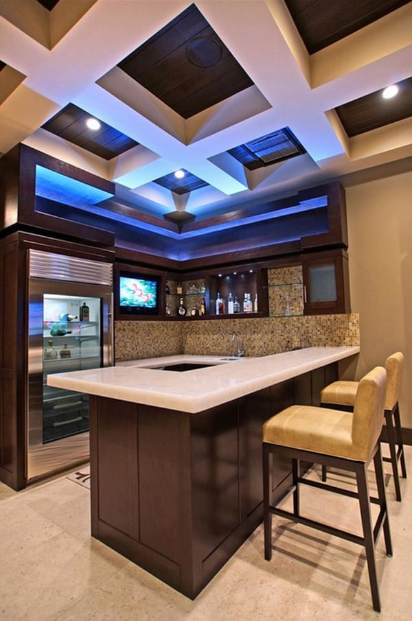Home Bar Design Ideas-07-1 Kindesign
