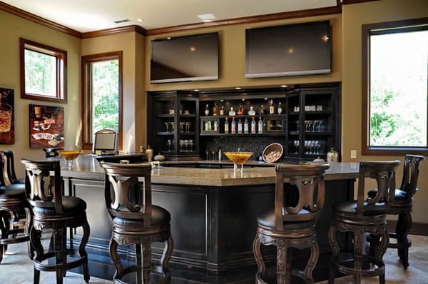 Home Bar Design Ideas-18-1 Kindesign