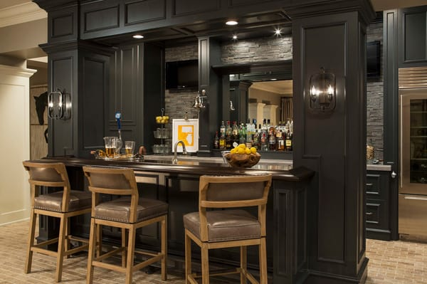 Home Bar Design Ideas-21-1 Kindesign