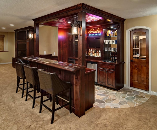 Home Bar Design Ideas-42-1 Kindesign