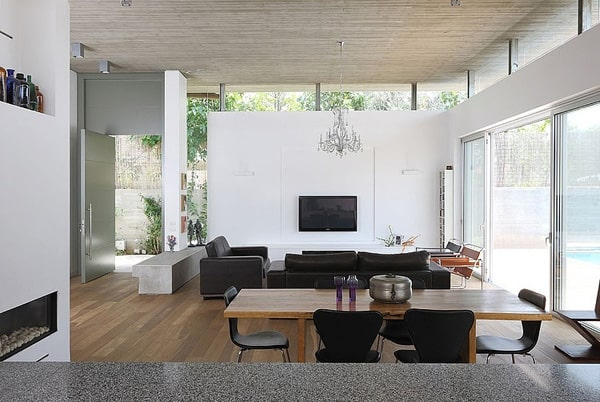 featured posts image for Inspiring home design reveals lofty interiors in Israel: House A
