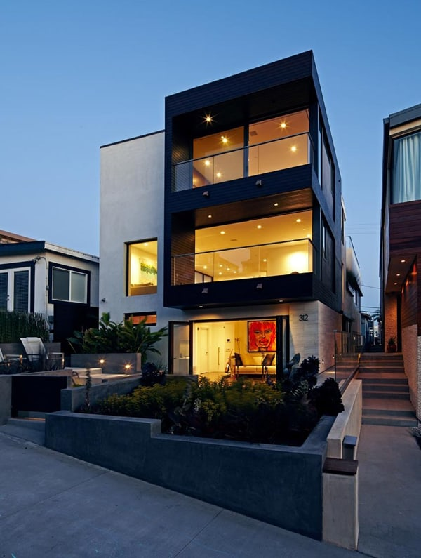 featured posts image for Stunning modern transformation of Manhattan Beach House