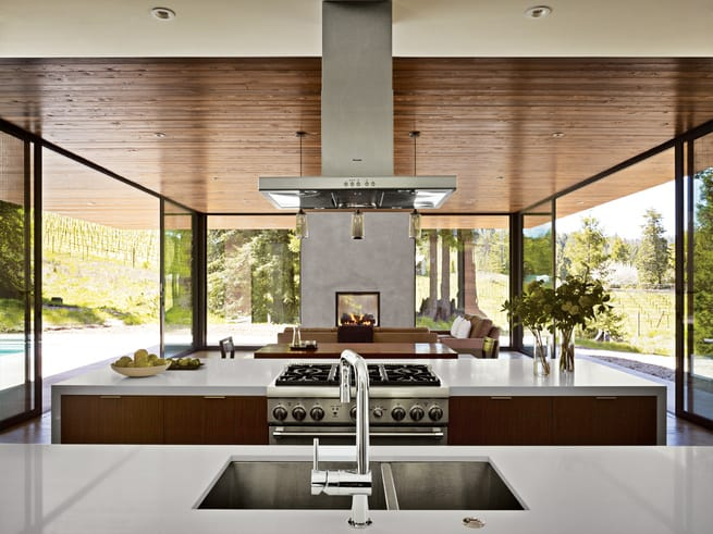 Sustainable Glass Dwelling In Sonoma County Marra Road