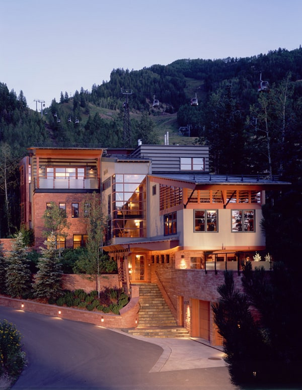 featured posts image for Contemporary mountain home in Aspen by Poss Architecture