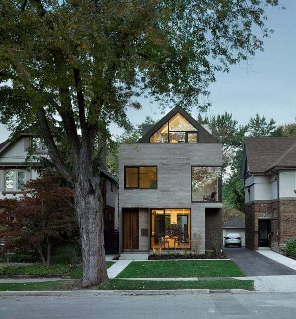 featured posts image for Infill residential project in Toronto: Moore Park Residence