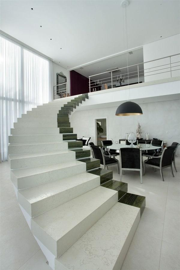 Sprawling property showcasing elegant interiors in brazil - Sublimissime residencia nj pupogaspar arquitetura ...