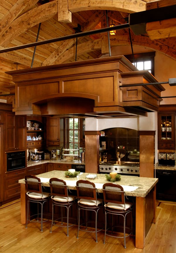 Rustic Kitchens in Mountain Homes-10-1 Kindesign