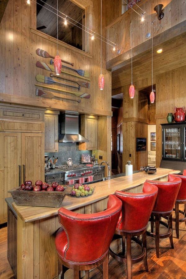 Rustic Kitchens in Mountain Homes-46-1 Kindesign